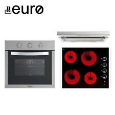 Euro Appliances - Oven, Cooktop, Rangehood - Cooking Appliance Package