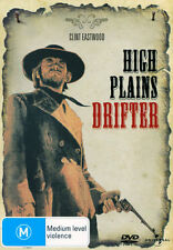HIGH PLAINS DRIFTER Clint Eastwood=THE STRANGER=New DVD (Region 4 Australia)