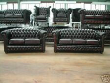 Chesterfield Leather sofa/suite BRAND NEW