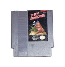 DESERT COMMANDER CLASSIC NINTENDO GAME ORIGINAL NES HQ