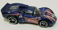 Hot Wheels Chaparral 2D Blue Loose Car Malaysia Base