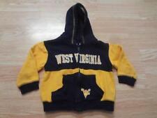 Toddler West Virginia Mountaineers 2T Jacket Hoodie Hooded Sweatshirt (Navy Blue