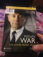 Foyles War: The Home Front Files - Sets 1-6 (DVD, 2013, 22-Disc Set)