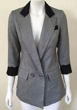 Cotton Blend Blazer Regular Size Coats & Jackets for Women