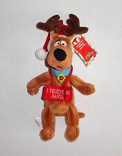 New SCOOBY DOO Christmas Plush Reindeer Warner Bros 1999 Santa C14