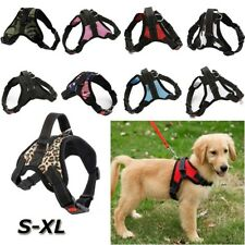 Adjustable Mesh Dog Harness Vest Dog Traction Rope Chest Strap Pet Puppy Collar