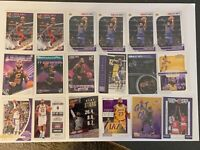 (18) Card Lebron James Lot - Lakers Cavs