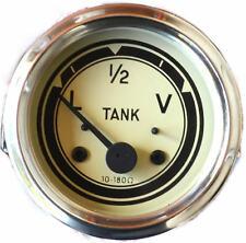Tankuhr ø 60mm mit Beleuchtung schwarz//weiß Traktor Schlepper Trekker Neu  60277