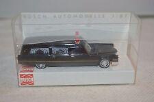 Busch 42911 Cadillac Station Wagen Bestattungswagen 1:87 mint in box neu ovp