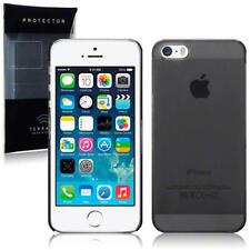 Fine Noir Transparent Ultra Fin étui rigide étui arrière Apple iPhone 5/5S/SE
