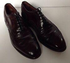 Imperial Biltrite Size 8 D Shoes Brown Wingtip Pebble Grain Leather NEW