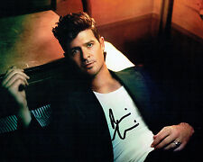 Robin THICKE SIGNED Autograph 10x8 Photo AFTAL COA American Singer Songwriter
