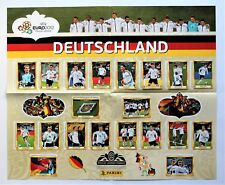 Panini EURO 2012 - Poster + Set Sondersticker D1 - D20 Deutsch / German Edition