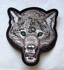 Un écusson Loup Garou wolf polarwolf meute Alaska wolfshund trappeurs chien patch