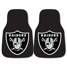 Oakland Raiders 2-Piece Carpet Car Auto Floor Mats