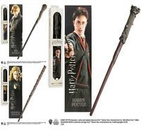 Official Harry Potter 12 Inch Wand Bookmark Replica Noble Costume Toy Cosplay UK