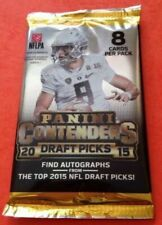 2015 Panini Contenders Draft Picks Football Hobby Pack LOOK for Vets Auto