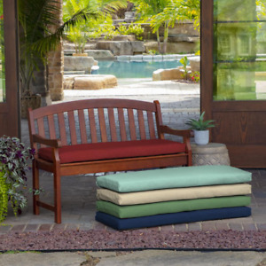Outdoor Cushion Patio Bench Porch Swing Polyester Fabric UV Protection 6 COLORS