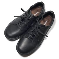 Black Merrell Womens Sz 5 Natural Leather Performance Footwear Casual Shoes