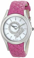 Salvatore Ferragamo LIRICA Diamond Pink 33mm Ladies Watch FG4010014 NEW $2395.00