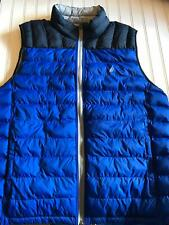 Nautica Mens Lightweight Double Side Reversable Vest Sz XXL Blue Gray NEW