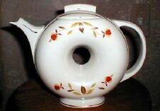 150.  AUTUMN LEAF DONUT TEA POT