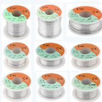 63/37 Tin Lead Rosin Core Solder Flux Soldering Welding Iron Wire Reel 0.3-1mm
