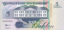 Surinam / Suriname 5 Gulden 1998 Pick 136