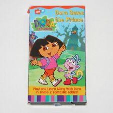Dora the Explorer VHS - Dora Saves The Prince, VHS Tape, 2002