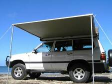 TIGERZ11 MCC EXPLORER WATERPROOF 4WD SIDE AWNING 2.5M X 2M & MOSQUITO MESH NET