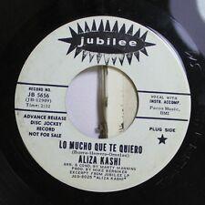 Pop 45 Aliza Kashi - Lo Mucho Que Te Quiero / Moscow Nights On Jubilee