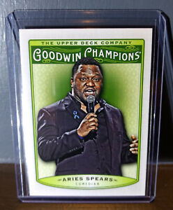 2019 Upper Deck Goodwin Champions Aries Spears #29 Comedian Trading Card