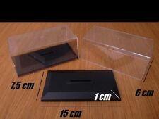 TOP ! Lot de 10 boites vitrine cristal vide 1/43 neuves **