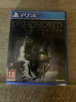 Dishonored: Definitive Edition (Sony PlayStation 4, 2015)