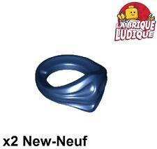 Lego - 2x Minifig foulard Bandana Ninja bleu foncé/dark blue 15619 NEUF