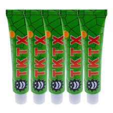 5PCS TKTX 39.9% Numbing Tattoo Skin Anesthetic Numb Cream Semi Permanent Grün