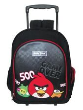 ANGRY BIRDS Trolley Sac à roulettes Cartable Game Over 500 + Trousse NEUF