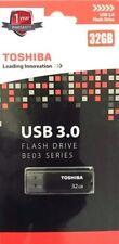 Geniune Toshiba USB 3.0 flash drive BE03 series 32GB random colour