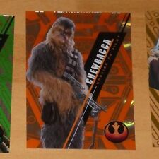 Topps 2016 STAR WARS High Tek Card SW-88 CHEWBACCA 07/25 Carte