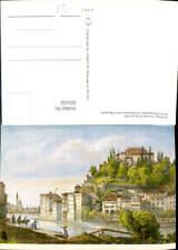 605332,Künstler Ak F. Barbarini Salzburg Vorstadt Stein um 1850
