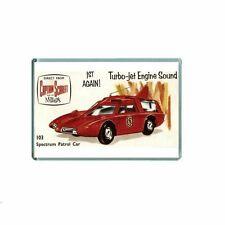 NOSTALGIA -  CAPTAIN SCARLET DINKY TOYS ADVERT - JUMBO / LOCKER FRIDGE MAGNET