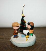 "Hallmark Ornament ""The Amazing Little Tree"" Peanuts, Holiday Memory Card 2003"