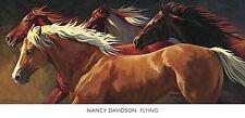 HORSE ART PRINT Flying Nancy Davidson