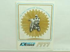 1977 Motocross Catalog Dealer Price List Honda Yamaha Baja Fender Bultaco L11935