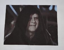 1 STAR WARS EMPEROR PALPATINE VILLIAN SEWING BLOCK QUILT FABRIC MATERIAL MOVIE