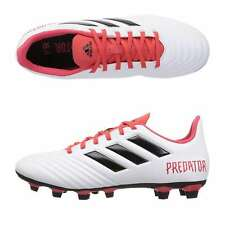 pick up ff1cb c0728 adidas Predator 18.4 FG Soccer Cleats White Red Black Cm7669 Men s Size 10