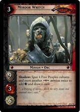 LoTR TCG Mount Doom Mordor Wretch FOIL 10U93