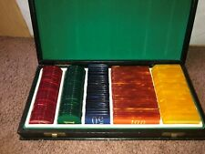 VINTAGE Casino Poker Card Game Baccarat Counting Accessories MADE IN FRANCE