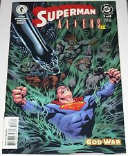 Superman Aliens II #3 from Sep 2002 VF to VF/NM God War part 3 of 4