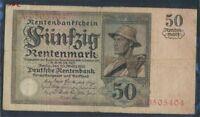 Deutsches Reich Rosenbg: 162 gebraucht (III) 1925 50 Rentenmark (8981305